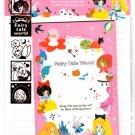 Kamio Japan Fairy Tale World Letter Set with Stickers (E) Kawaii