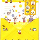 Daiso Japan Moshi Moshi Bear Letter Set with Stickers Kawaii