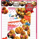 Crux Japan Funny Smile Letter Set with Stickers Kawaii