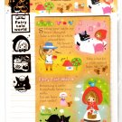 Kamio Japan Fairy Tale World Letter Set with Stickers (F) Kawaii