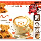 Crux Japan Caramel Milk Letter Set with Stickers Kawaii