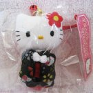 Sanrio Japan Hello Kitty Kimono Plush Charm Strap 2006 Kawaii