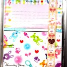 Q-Lia Japan Humming Time Letter Set with Stickers Kawaii