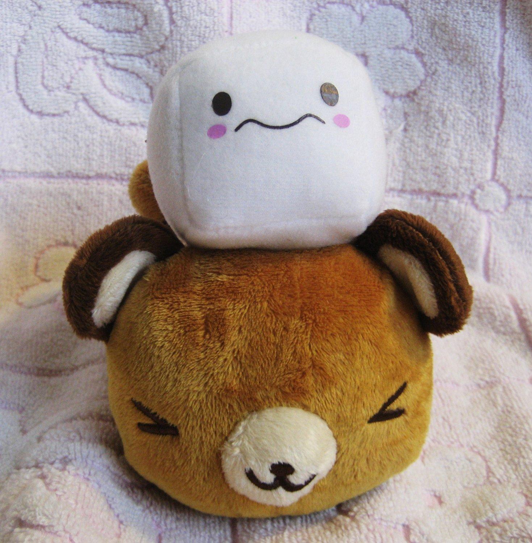 Sanrio Japan Tenorikuma with Sugar Cube Plush (E) 2007 Kawaii