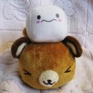 Sanrio Japan Tenorikuma with Sugar Cube Plush (E) 2007 Kawaii