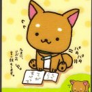 San-X Japan Iiwaken Mini Memo Pad (A) 2010 Kawaii