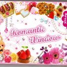 Mind Wave Japan Romantic Window Memo Pad with Sticker Kawaii