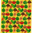 Bee Create Japan Vegetable Sticker Sheet Kawaii