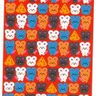 Bee Create Japan Mouse Sticker Sheet Kawaii