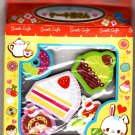 Lemon Japan Sweet Cafe Diecut Erasers Set of 5 Kawaii