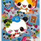 Crux Japan Panda's Post 2-in-1 Sticker Sheet Kawaii