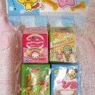 Candy Town Japan Cute Animal Erasers Set (C) Kawaii