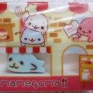 San-X Japan Mamegoma Big Block Eraser with Diecut Eraser (D) 2009 Kawaii