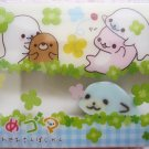 San-X Japan Mamegoma Big Block Eraser with Diecut Eraser (F) 2009 Kawaii
