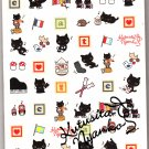 San-X Japan Kutusita Nyanko Memo Pad with Stickers (E) 2009 Kawaii