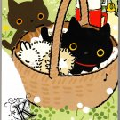 San-X Japan Kutusita Nyanko Memo Pad with Stickers (A) 2010 Kawaii