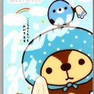 San-X Japan Kireizukinseikatu Memo Pad with Stickers (F) Kawaii