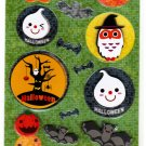 Daiso Japan Halloween Handmade Sticker Sheet (B) Kawaii
