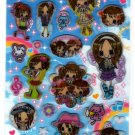 Pool Cool Japan Milky Girls Sticker Sheet Kawaii