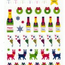 Mind Wave Japan Merry Christmas Sticker Sheet Kawaii