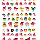 Sanrio Japan My Melody Cute Model Puffy Sticker Sheet 2010 Kawaii