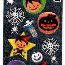 Daiso Japan Halloween Handmade Sticker Sheet (C) Kawaii