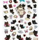 San-X Japan Kutusita Nyanko Cat Sticker Sheet (A) 2011 Kawaii