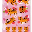 Gakken Japan Year of the Tiger Fuzzy Sticker Sheet Kawaii