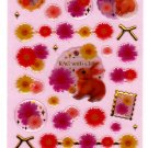 Kamio Japan Rag with Chic Epoxy Sticker Sheet Kawaii
