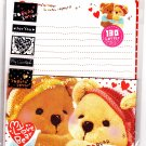 Crux Japan My Love Bear Letter Set with Stickers Kawaii