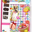 Mind Wave Japan Colorful Sweet Letter Set with Stickers Kawaii