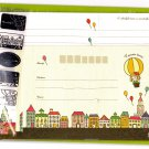 Mind Wave Japan Canvas Town Letter Set with Stickers Kawaii