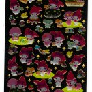Sanrio Japan My Melody and Sweet Piano Epoxy Sticker Sheet 2010 Kawaii