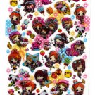 Crux Japan Mix Honey Hard Gel Sticker Sheet Kawaii