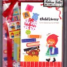 Crux Japan Child Library Letter Set with Stickers Kawaii