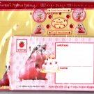 Q-Lia Japan Sweet Hamu Hamu Letter Set with Stickers Kawaii