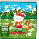 Sanrio Japan Hello Kitty Mountain Meadows Mini Towel Washcloth 2000 Kawaii