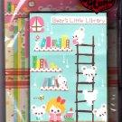 Q-Lia Japan Bear's Little Library Letter Set Kawaii