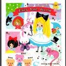 Kamio Japan Fairy Tale World Mini Memo Pad (L) Kawaii