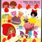 Kamio Japan Fairy Tale World Mini Memo Pad (N) Kawaii