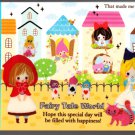 Kamio Japan Fairy Tale World Mini Memo Pad (P) Kawaii
