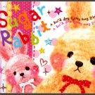 Q-Lia Japan Sugar Rabbit Mini Memo Pad (C) Kawaii