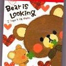 Crux Japan Bear is Looking Mini Memo Pad Kawaii