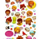 Pool Cool Japan Zodiac Girls Epoxy Sticker Sheet Kawaii