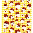 Mind Wave Japan Hamters Fuzzy Sticker Sheet Kawaii
