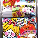 Kamio Japan Guru Guru Friends Trick Box Letter Set Kawaii