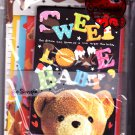 Crux Japan Sweet Love Baby Letter Set Kawaii
