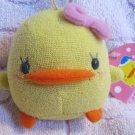 Eikoh Japan Piyo Chan Girl Angel Plush Strap New with Tag Kawaii