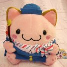 Maruneko Club Japan Cat Tour Guide Plush New with Tag Kawaii