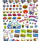 San-X Japan Mamegoma Supermarket Sticker Sheet (B) 2010 Kawaii